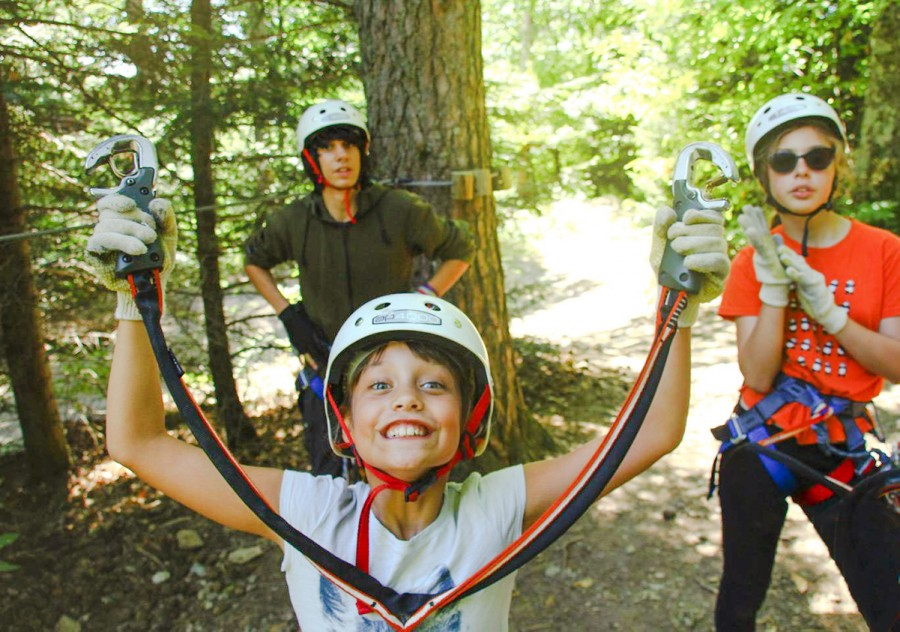 High ropes Ardeche